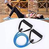 HeTaiDa Gymnastikbänder mit Griffen Fitnessbander 15-20 lb Strecken Expander Für Pilates Krafttraining und Fitness