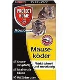 PROTECT HOME Rodicum Mäuseköder anwendungsfertige beköderte Köderbox zur effektive Mäusebekämpfung, 1 Stück