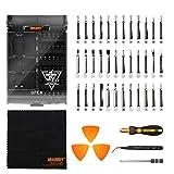 Jakemy - Präzisions-Schraubendreher-Set, 43 in 1, Werkzeug-Set mit 36 magnetischen Schraubendrehereinsätzen für Reparatur von iPhones 11/X/8/7 Plus, Handys, MacBooks, Laptops, PCs