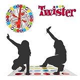 YOTINO Twister-Spiel, Balance-Spiel, Geschicklichkeitsspiel für Kinder & Erwachsene, Partyspiel, Familienspiel, lustiges Spiel für Kindergeburtstage, Twister Spielmatte Original Outdoor Bodenspiele
