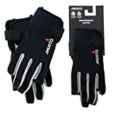 Musto 2018 Essential Segelhandschuhe Sailing Long Finger Gloves Black AUGL002 Size - - Large