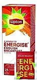 Lipton English Breakfast Schwarzer Tee, 1er Pack (1 x 25 Teebeutel)