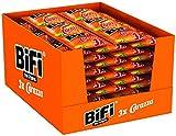 BiFi Carazza Original – Herzhafter Pizzasnack zum Mitnehmen – Multipack 24 Stück à 3 x 40 g