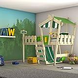 WICKEY Kinderbett 'CrAzY Hutty' - Hochbett - Spielbett - 90x200 cm