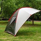 Zeltwagen Markise im Freien tragbares Zelt SUV Auto Heckzelt Auto Seite mit Aufbewahrungstaschen für den Außenbereich
