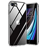 TORRAS Diamond Series für iPhone 7/8/SE 2020 Hülle Vergilbungsfrei, Stoßfest iPhone SE Hülle/iPhone 8 Hülle/iPhone 7 Hülle Case Hard Back und Silikon Bumper Handyhülle iPhone 7/8/SE 2020 (Transparent)