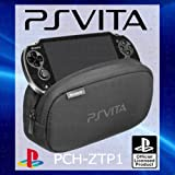 Offizielles Sony Playstation PS Vita Soft Travel Pouch Tragetasche–mit Dual Staufächer für Peripheriegeräte + Speicherkartenslots–pch-ztp1[OEM-verpackt]