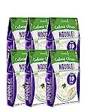 6 x Slendier Bio Konjak Nudeln | Noodle-Style | Kalorienarm | Shirataki | Quelle für Ballaststoffe | Glutenfrei | 6 x 250 g