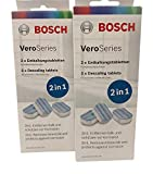 2x Bosch VeroSeries TCZ8002 Entkalkungstabletten 2in1 für Kaffeevollautomaten