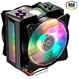 Cooler Master MAM-T4PN-218PC-R1 MasterAir MA410M Prozessorlüfter RGB CPU Kühler für PC (kompatibel mit Intel und AMD)