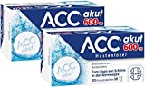 Sparset ACC akut 600 mg Hustenlöser 2 x 20 Brausetabletten