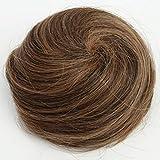 PRETTYSHOP 100% ECHTHAAR Human Hair DUTT Hochsteckfrisuren Haarteil Haarknoten Hepburn-Dutt Haargummi