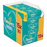 Pampers Fresh Clean Feuchttücher 15 Packungen, 1200 Feuchttücher