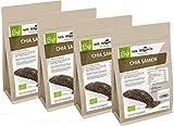 Mr. Brown BIO Chia Samen 4 Kg   aus kontrolliert biologischem Anbau   abgefüllt in Bayern   schwarz   Premium Qualität