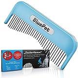 Bluepet® Katzenkamm Zauberkamm für Langhaar - entfernt Knoten - Hundekamm - auch als Katzenbürste einsetzbar - Bürste für Hund & Katze