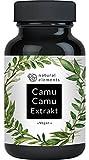 Camu-Camu Kapseln - Natürliches Vitamin C - Vergleichssieger 2020* - 180 vegane Kapseln für 6 Monate - Laborgeprüft, ohne unerwünschte Zusätze