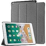 EasyAcc Hülle für iPad Air 2, Ultra Slim Cover Schutzhülle PU Lederhülle mit Standfunktion/Auto Sleep Wake Up Funktion Kompatibel für iPad Air 2 2014 Modell Number A1566/A1567 - Grau