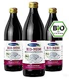 Nonisaft (3 x 1000 ml) | Bio-Qualität und 100% Direktsaft | Abgefüllt und fermentiert im Ernteland | Apothekenqualität