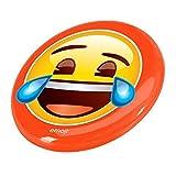 Emoji-Lachen Gesicht Flying Disc, Orange