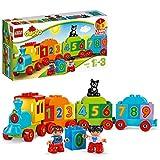 LEGO 10847 DUPLO My first Zahlenzug, preisgekröntes Bauset mit großen Zahlensteinen, Vorschulspielzeug, Lernspielzeug für Kleinkinder im Alter von 1,5 Jahren