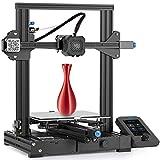 Comgrow Creality Ender 3 V2 3D Drucker, mit Silent Motherboard, Meanwell Netzteil, Carborundum Glasplattform, 220x220x250 mm Druckgröße