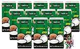 yoaxia ® - 12er Pack - [ 12x 500ml ] AROY-D Kokosmilch Kokosnussmilch Cocosmilch, Coconut Milk + ein kleines Glückspüppchen - Holzpüppchen
