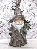 Posiwo Weihnachtsmann Weihnachtsdekoration Beleuchtet Santa Claus