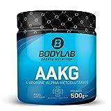 Bodylab24 AAKG 500g Pulver   Pre-Workout   L-Arginin Alpha-Ketoglutarat im Verhältnis 2:1