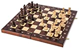 Square - Spiel Senator - 3 in 1 - Schach - Backgammon - Dame - 42 x 42 cm