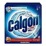 Calgon 3in1 Power Tabs – Wasserenthärter gegen Kalkablagerungen und Schmutz in der Waschmaschine – Beugt unangenehmen Gerüchen vor – 1 x 75 Tabs