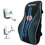 Lendenwirbelstützkissen für Bürostuhl, Rückenkissen aus Memory-Schaum zur Schmerzlinderung im unteren Rücken