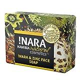 !Nara Bio Naturkosmetik Seife mit Zink 80g milde Öl-Seife zur täglichen Gesichtspflege und Körperpflege mit heilender antibakterieller Wirkung für sehr empfindliche Haut die zu Unreinheiten neigt,