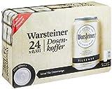 Warsteiner Premium Pilsener Dosenkoffer Premium Verum, Internationales Bier nach deutschem Reinheitsgebot, EINWEG (24 x 0,33 Liter)