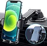VANMASS Handyhalterung Auto 3 in 1 Lüftung & Saugnapf Stabil 100% Silikonschutz Handyhalter Fürs Auto Universale Kfz Handyhalterung 360°Drehbar Autohalterung Für Alle Handy iPhone Samsung Huawei LG