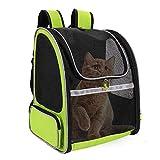 FREESOO Haustier Rucksäcke für Hund und Katzen, Haustiere Tragetasche Transportbox Katze Faltbare Transporttasche Hundetransportbox Hundebox Hundehütte Atmungsaktive Reisebox Reisetasche