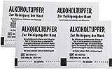 Alkoholtupfer steril, 1 x 100 Stück 30x65 mm