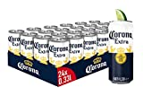 Corona Extra Premium Lager Dosenbier, Einweg Lager Bier (24 X 0.33 L)
