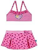 Schiesser Mädchen Prinzessin Lillifee Bustier-Bikini Badebekleidungsset, Rot (Rosé 506), 128
