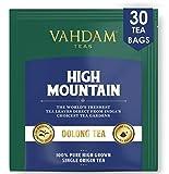 Himalaya-Oolong-Tee (30 Tea Bags) - Oolong-Tee zur Gewichtsreduktion , Schlankheits-Tee, Oolong-Tee Loose Leaf, oolong teebeutel, Detox-Tee und Schlankheitstee, Brew Hot, Iced oder Kombucha Tee