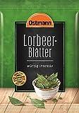 Ostmann Lorbeerblätter ganz Lorbeer-Blatt zum Fleisch einlegen Extra-Gewürz für Marinaden, für Suppen, Eintöpfe und Braten, getrocknet, Menge: 1 Stück x 11 g