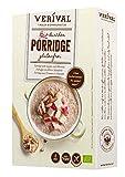 Verival Bircher Porridge Glutenfrei | 350g Einzelpackung | vegan | ohne Palmöl | glutenfrei | ohne Zuckerzusatz | hangefertigt in Tirol