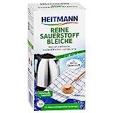Heitmann Reine Sauerstoff-Bleiche: für hygienische Sauberkeit im Haushalt, hohe Waschkraft mit Soda und Sauerstoff, bleicht und entfernt zuverlässig Flecken von Oberflächen und aus Textilien, 375g