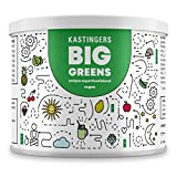 Kastingers® Big Greens Superfood Pulver I 200g I Greens Pulver aus Gerstengras, Weizengras, Spirulina, Chlorella, Acerola, OPC I vegan Smoothie Pulver