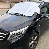 Thermo Scheibenabdeckung XXL Auto Transporter Front Winter & Sommer