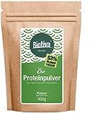 Vegan Protein Pulver Bio 900g - 83% Protein - ohne Soja - Erbsen- und Reisprotein - 23g Eiweiß je Dosis - Vegan - Abgefüllt und kontrolliert in Deutschland (DE-ÖKO-005)