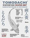 Winterfutter für Koi, Sinkfutter für Koi im Winter, liefert den Koi schonend Energie auch bei niedrigen Wassertemperaturen, Tomodachi Winterfood Winter Diet oder Winter Diet Junior, wahlweise 3mm oder 5mm, 5 kg Sack (5mm)