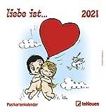 liebe ist... 2021 - Postkarten-Kalender - Kalender-mit-Postkarten - zum-raustrennen - 16x17