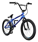 Mongoose Unisex-Adult Title Pro XXL Race Racing, BMX, Blue, one Size