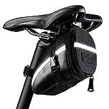 KDWOA Fahrradsatteltasche Wasserdichter Rahmen Reißverschluss Satteltasche Smartphone-Tasche für Mountainbike, Rennrad, Straßenrad