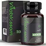 Kapseln Mit Hanf 30000 mg, hochfeste kaltgepresste, 100% natürliche Formel - Reich an Omega 3, 6, 9 (1PACK)